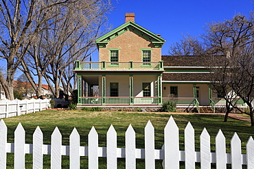 Brigham Young's Winter Home, St. George, Utah, United States of America, North America