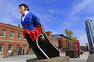 Gunwharf Quays, Portsmouth, Hampshire, England, United Kingdom, Europe