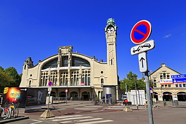 Railway Station, Rouen, Normandy, France, Europe