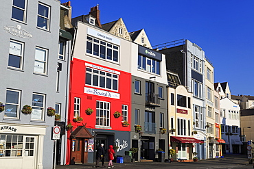 North Esplanade, St. Peter Port, Guernsey, Channel Islands, United Kingdom, Europe