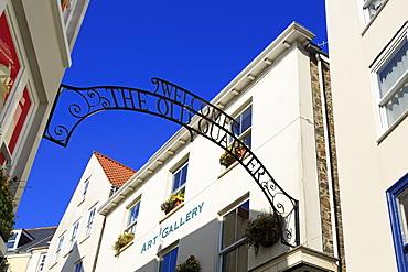 The Old Quarter, St. Peter Port, Guernsey, Channel Islands, United Kingdom, Europe
