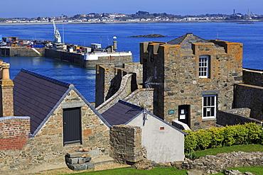 Castle Cornet, St. Peter Port, Guernsey, Channel Islands, United Kingdom, Europe