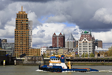 Old Port District, Rotterdam, South Holland, Netherlands, Europe