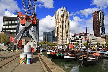 Maritime Museum, Rotterdam, South Holland, Netherlands, Europe