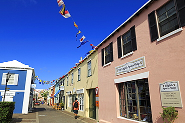Water Street, Town of St. George, St. George's Parish, Bermuda, Central America