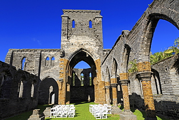 Unfinished Church, Town of St. George, St. George's Parish, Bermuda, Central America