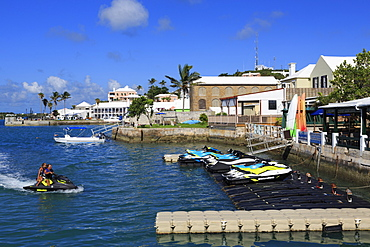 Waterfront, Town of St. George, St. George's Parish, Bermuda, Central America