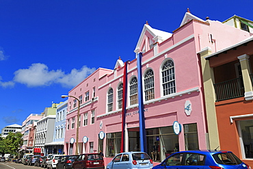 Reid Street, Hamilton City, Pembroke Parish, Bermuda, Atlantic, Central America