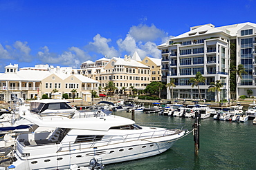 Waterfront Marina, Hamilton City, Pembroke Parish, Bermuda, Atlantic, Central America