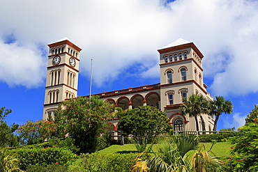 Sessions House, Hamilton City, Pembroke Parish, Bermuda, Atlantic, Central America