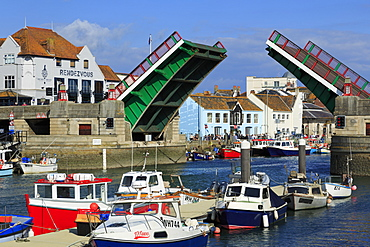 Town Bridge, Weymouth, Dorset, England, United Kingdom, Europe