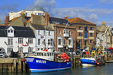 Weymouth Harbour, Dorset, England, United Kingdom, Europe