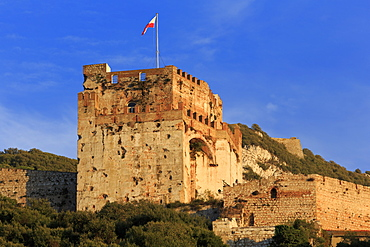 Moorish Castle, Gibraltar, United Kingdom, Europe