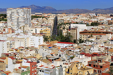 City of Alicante, Spain, Europe