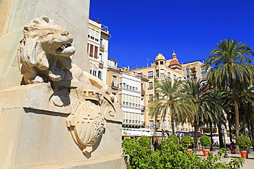 Canalejas Monument, Alicante, Spain, Europe