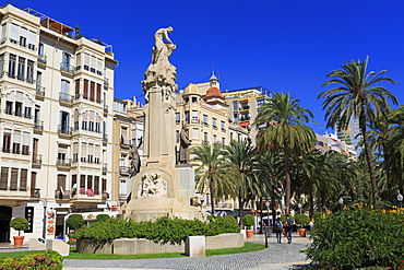 Canalejas Monument, Alicante, Costa Blanca, Spain, Europe