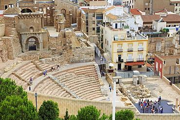 Roman Forum, Cartagena, Murcia, Spain, Europe
