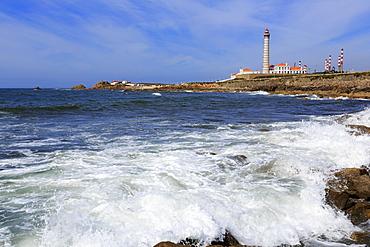 Leca Da Palmeira Lighthouse, Matosinhos City, Portugal, Europe