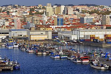 Fishing boats, Leixoes Port, Matosinhos City, Portugal, Europe