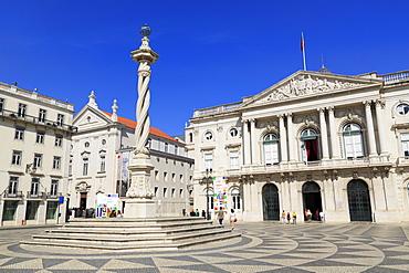 City Hall, Municipal Square, Lisbon, Portugal, Europe