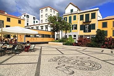 Praca do Colombo, Funchal City, Madeira Island, Portugal, Europe