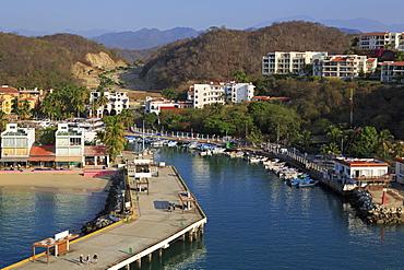 Santa Cruz Port, Huatulco, State of Oaxaca, Mexico, North America