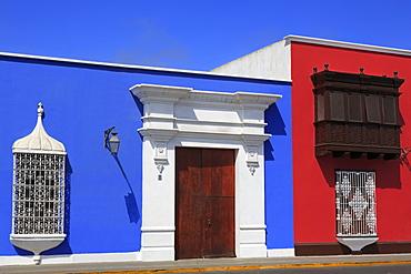 Architecture, Plaza de Armas, Trujillo, Peru, South America