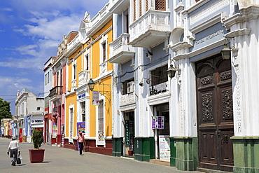 Pizarro Street, Trujillo, Peru, South America