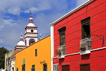 Independencia Street, Trujillo, Peru, South America