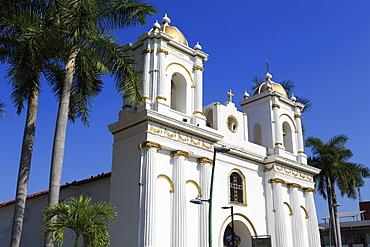 San Agustin Church, Main Square, Tapachula City, State of Chiapas, Mexico, North America