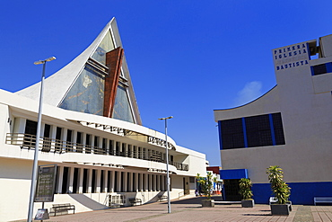 Cathedral San Jose, Bicentenary Park, Tapachula City, State of Chiapas, Mexico, North America