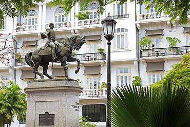 Herrera Monument, Old Town, Panama City, Panama, Central America