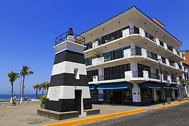 Front Range Lighthouse, Puerto Vallarta, Jalisco State, Mexico, North America