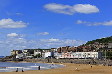 Weston Beach, Weston-super-Mare, Somerset, England, United Kingdom, Europe