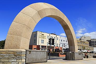 Flood gates, Weston-super-Mare, Somerset, England, United Kingdom, Europe