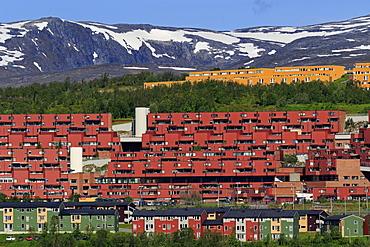 Apartments in Breidvika, Tromso City, Tromsoya Island, Troms County, Norway, Scandinavia, Europe
