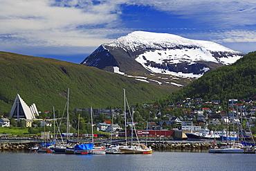 Arctic Cathedral, Tromso City, Tromsoya Island, Troms County, Norway, Scandinavia, Europe