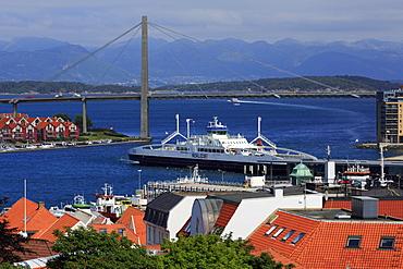 Stavanger City Bridge, Ragoland County, Norway, Scandinavia, Europe