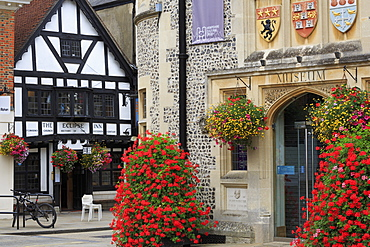 City Museum, Winchester, Hampshire, England, United Kingdom, Europe