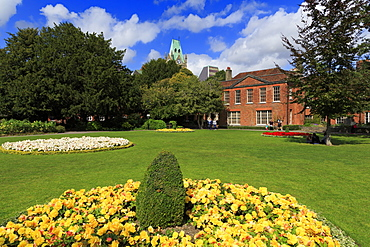 Abbey Garden, Winchester, Hampshire, England, United Kingdom, Europe
