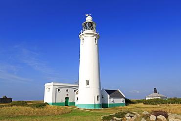Hurst Point Lighthouse, Keyhaven, Hampshire, England, United Kingdom, Europe