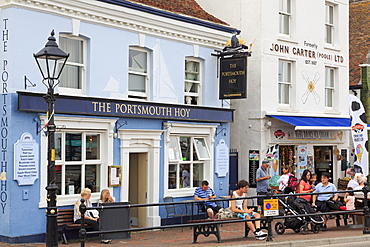 The Quay in Old Town Poole, Poole, Dorset, England, United Kingdom, Euruope