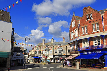 The Parade, Swanage Town, Isle of Purbeck, Dorset, England, United Kingdom, Europe