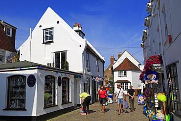 Quay Street, Lymington Town, Hampshire, England, United Kingdom, Europe