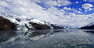 Harvard Glacier in College Fjord, Southeast Alaska, United States of America, North America