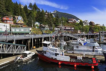 Newtown Marina, Ketchikan, Alaska, United States of America, North America