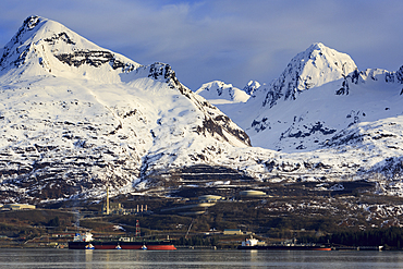Oil Terminal, Valdez, Prince William Sound, Alaska, United States of America, North America