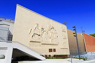 Fort Monroe Pioneer Memorial, Chinatown, Los Angeles, California, United States of America, North America