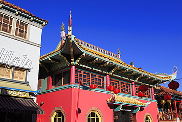 Central Plaza, Chinatown, Los Angeles, California, United States of America, North America