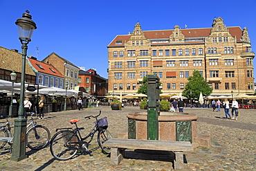 Lilla Square, Old Town, Malmo, Sweden, Skane County, Sweden, Scandinavia, Europe